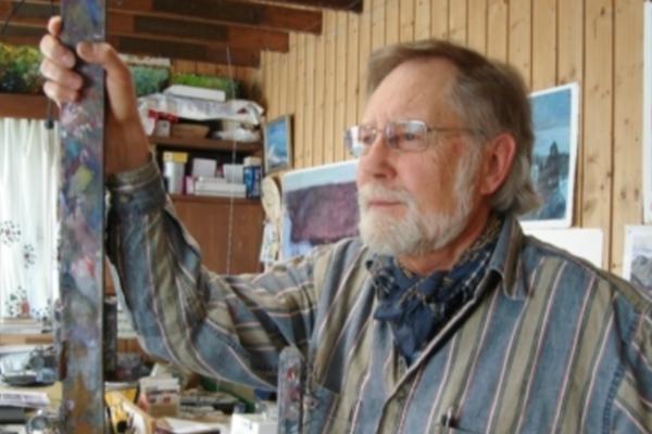 Anerkjent maler donerer maleri til Bodnariu-prisen