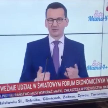 Polens statsminister Mateusz Morawiecki forsvarer konsul Slawomir Kowalski
